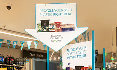 Co-op soft plastic recycling