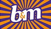 b&m retailer logo